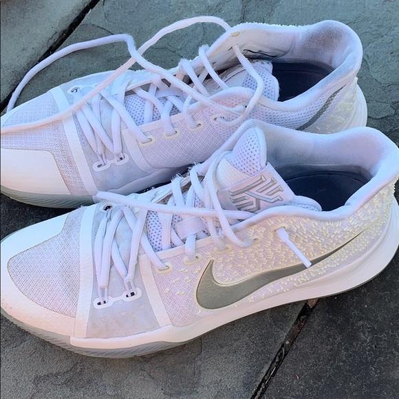 Nike Other - Nike Kyrie 3 men's white chrome basketball sneaker